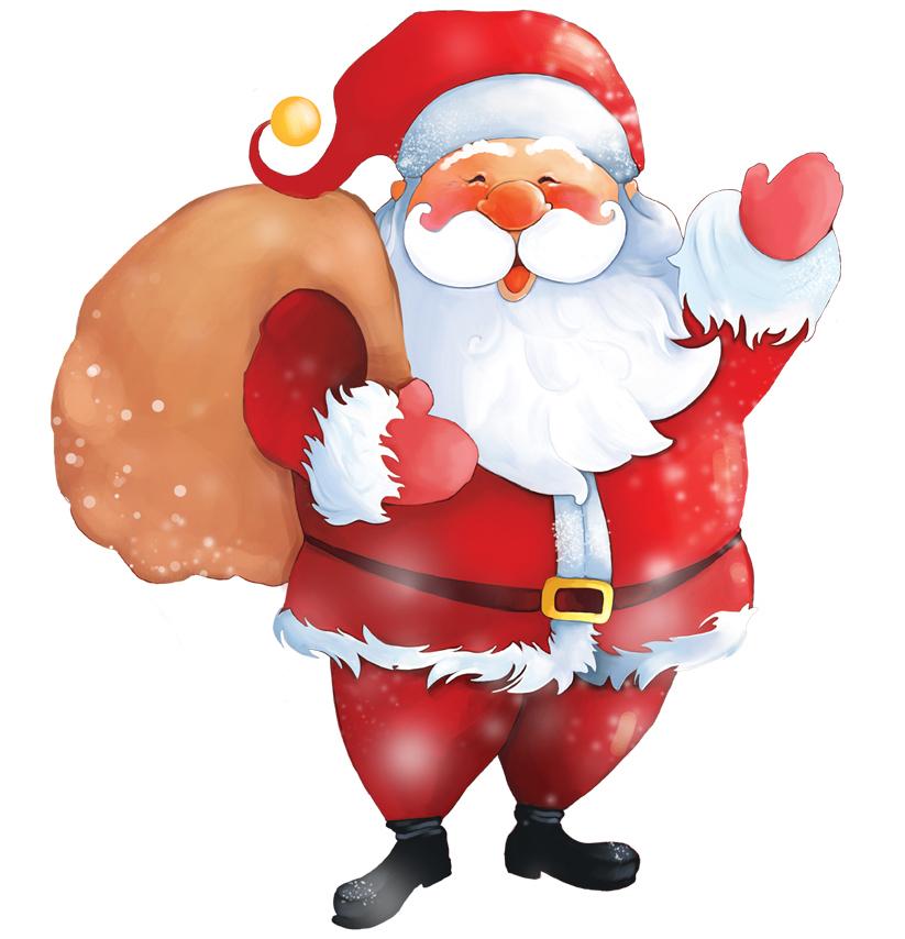 Modernistyczne Boże Narodzenie - prezenty od Świetego Mikołaja EH01